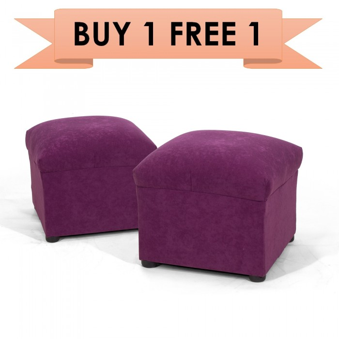 Prime Buy 1 Free 1 Pamica 3Sc 49 Molly Fabric Square Ottoman 14 Dailytribune Chair Design For Home Dailytribuneorg