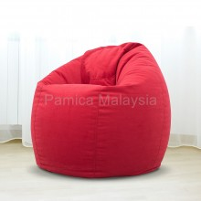 PAMICA 3SC-08P Ohio Large Bean Bag Chair 2.5kg (Red)
