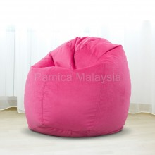 PAMICA 3SC-08P Ohio Large Bean Bag Chair 2.5kg (Pink)