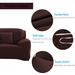 PAMICA Spandex Stretch Protector Couch Sofa Slipcover (2 Seater)