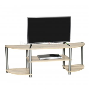 PAMICA RS5087-M TV Stand Entertainment Rack in Sonoma Oak Finished
